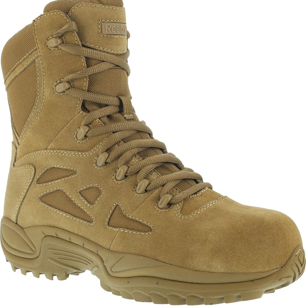 Image for Reebok Men's Rapid Response RB 8IN Safety Boots - Coyote from bootbay