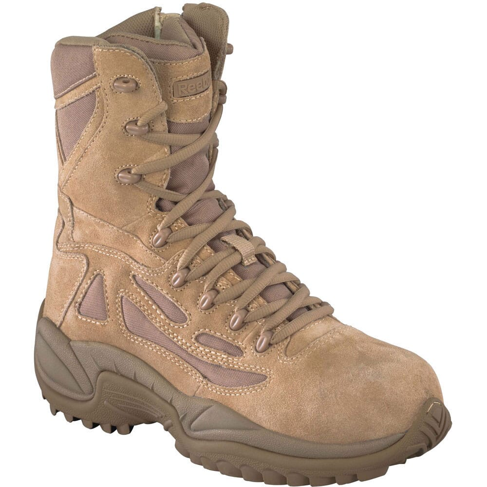Image for Reebok Men's Stealth 8In Uniform Boots - Desert Tan from bootbay