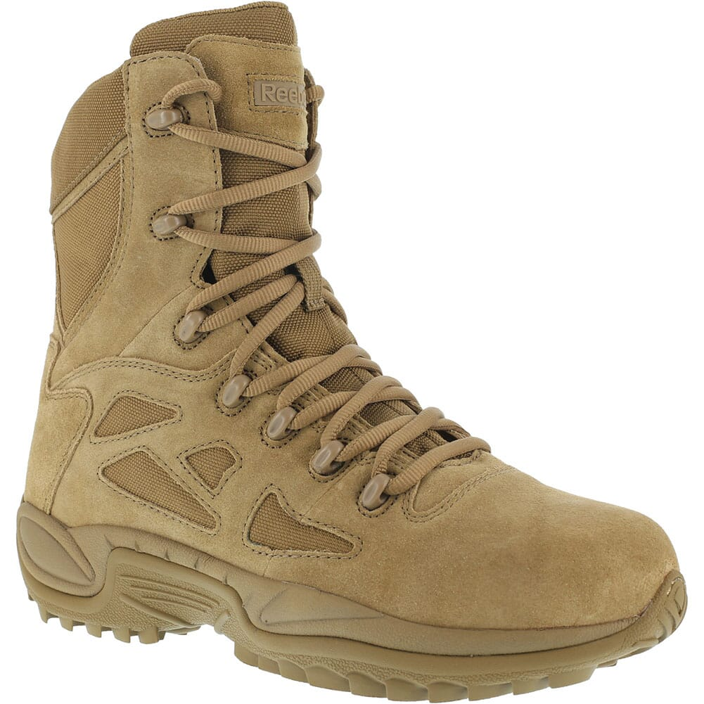 Image for Reebok Women's Rapid Response RB Tactical Boots - Coyote from elliottsboots