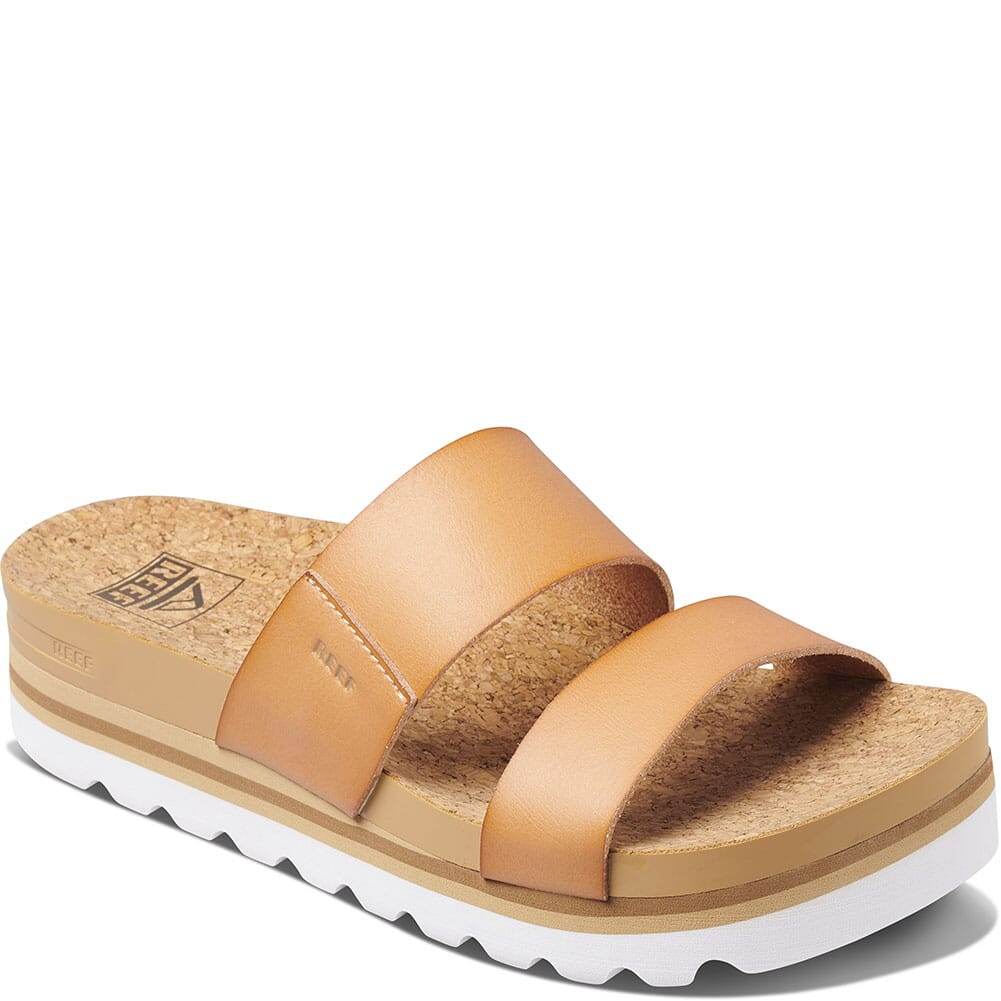Image for Reef Women's Cushion Vista HI Sandals - Natural from elliottsboots