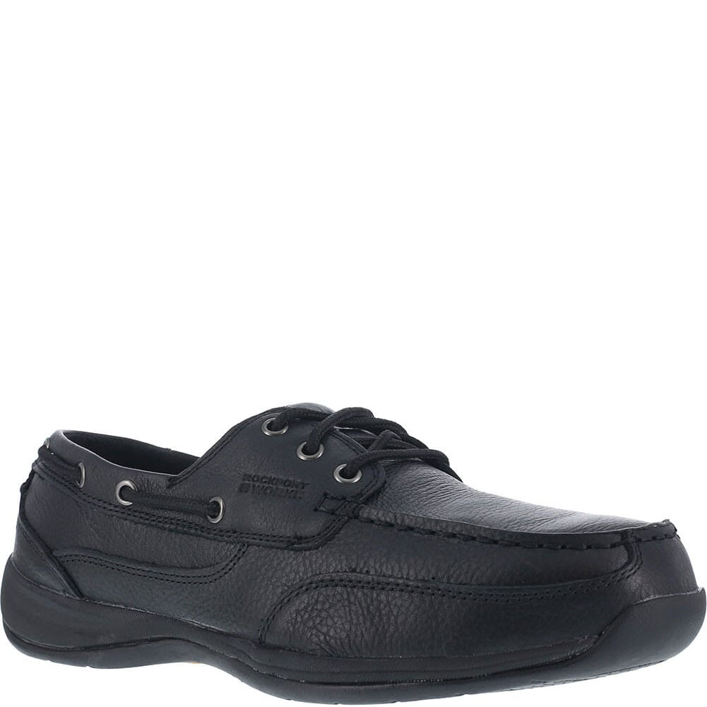 Image for Rockport Works Women's Sailing Club Safety Shoes - Black from elliottsboots