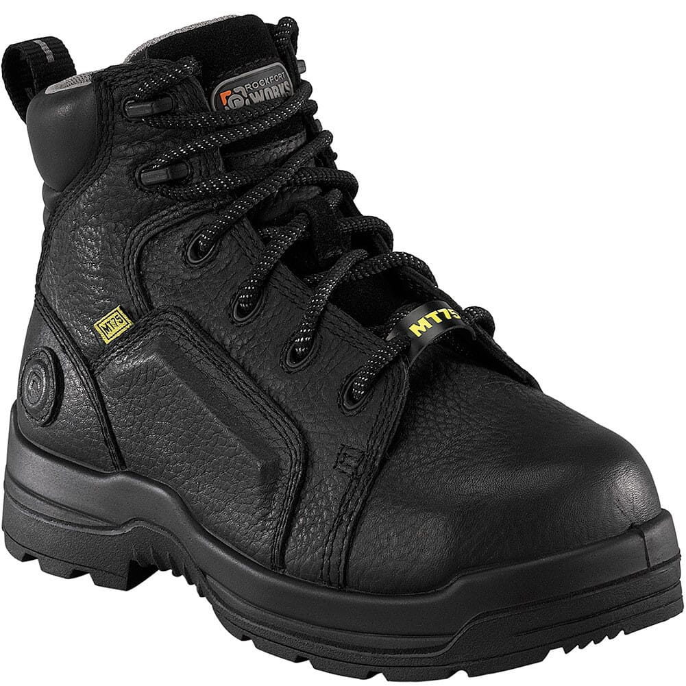 Image for Rockport Works Men's Met Guard Safety Boots - Black from bootbay