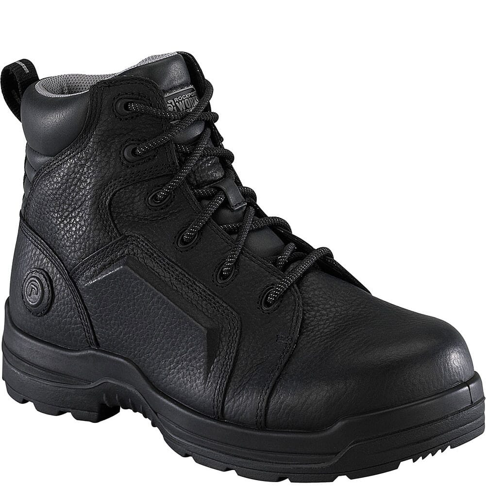 Image for Rockport Works Men's WP EH Safety Boots - Black from bootbay