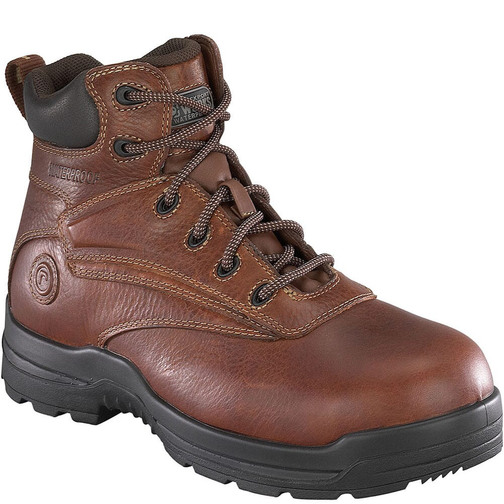 Image for Rockport Works Women's CT WP Safety Boots - Brown from bootbay