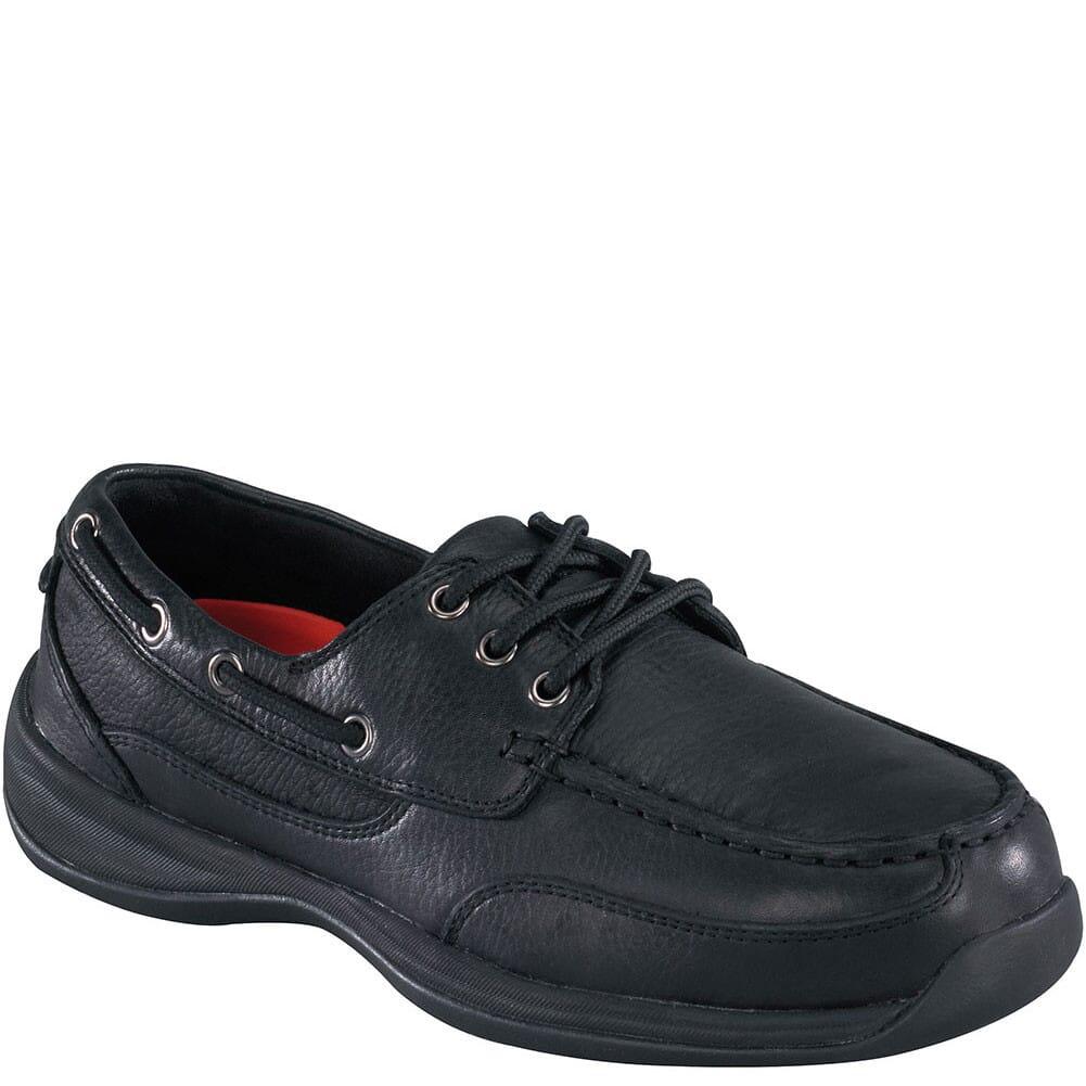 Image for Rockport Works Men's EH Boat Safety Shoes - Black from bootbay