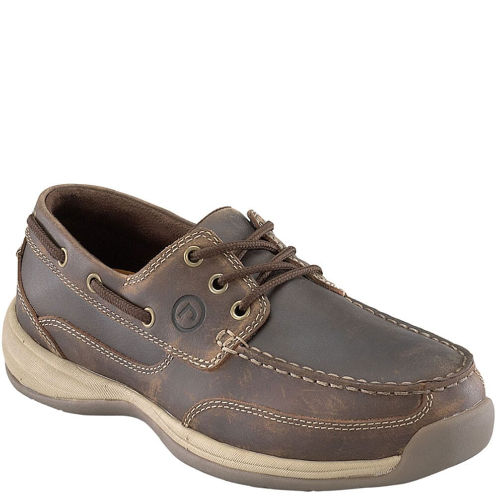 Image for Rockport Works Women's Boat Safety Shoes - Brown from bootbay