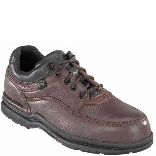 Image for Rockport Works Men's World Tour Safety Shoes - Brown from bootbay