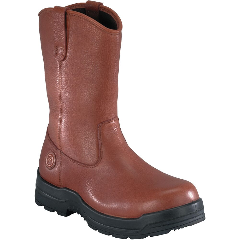 Image for Rockport Works Men's Wellington Safety Boots - Brown from bootbay