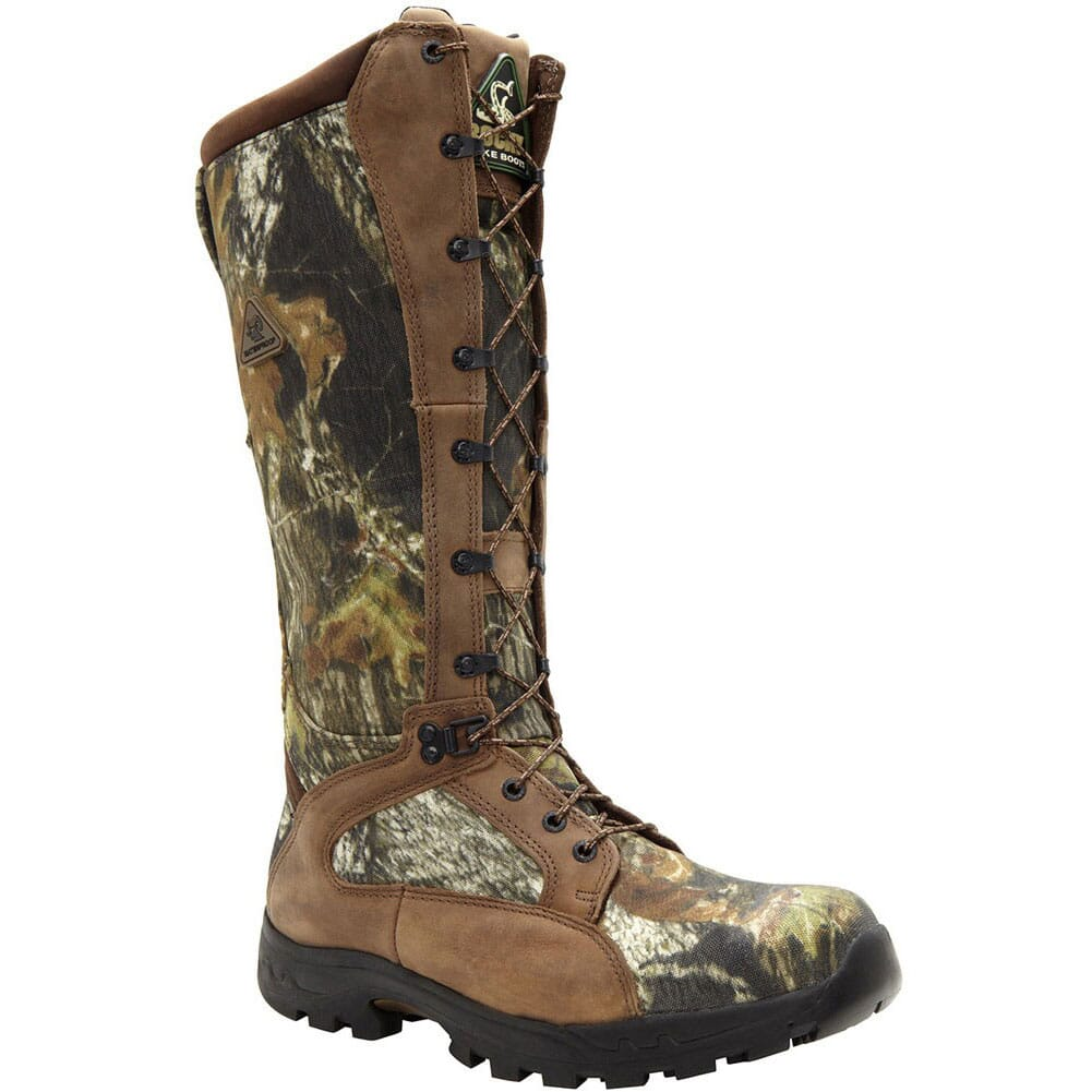 Image for Men's WP Snake Proof Hunting Rocky Boots - Mossy Oak from bootbay