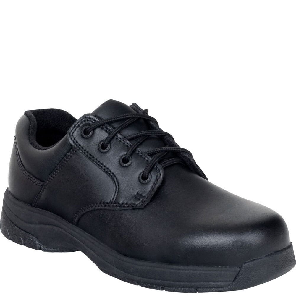 Image for Rocky Men's SlipStop Lace Up Uniform Shoes - Black from bootbay