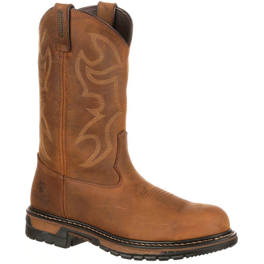 Image for Men's Safety Branson Rocky Boots - Brown from bootbay