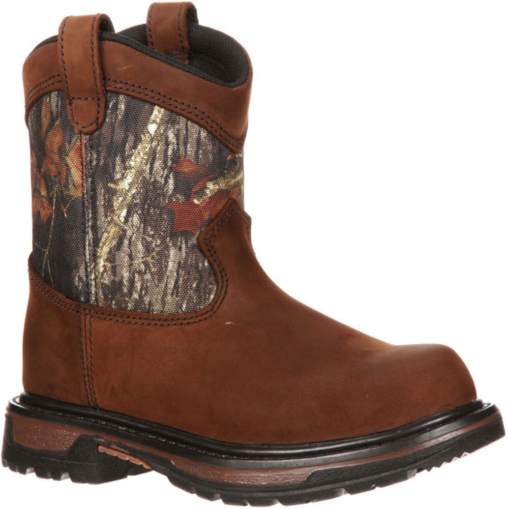 Image for Rocky Kid's Ride Waterproof Hunting Boots - Camo from bootbay