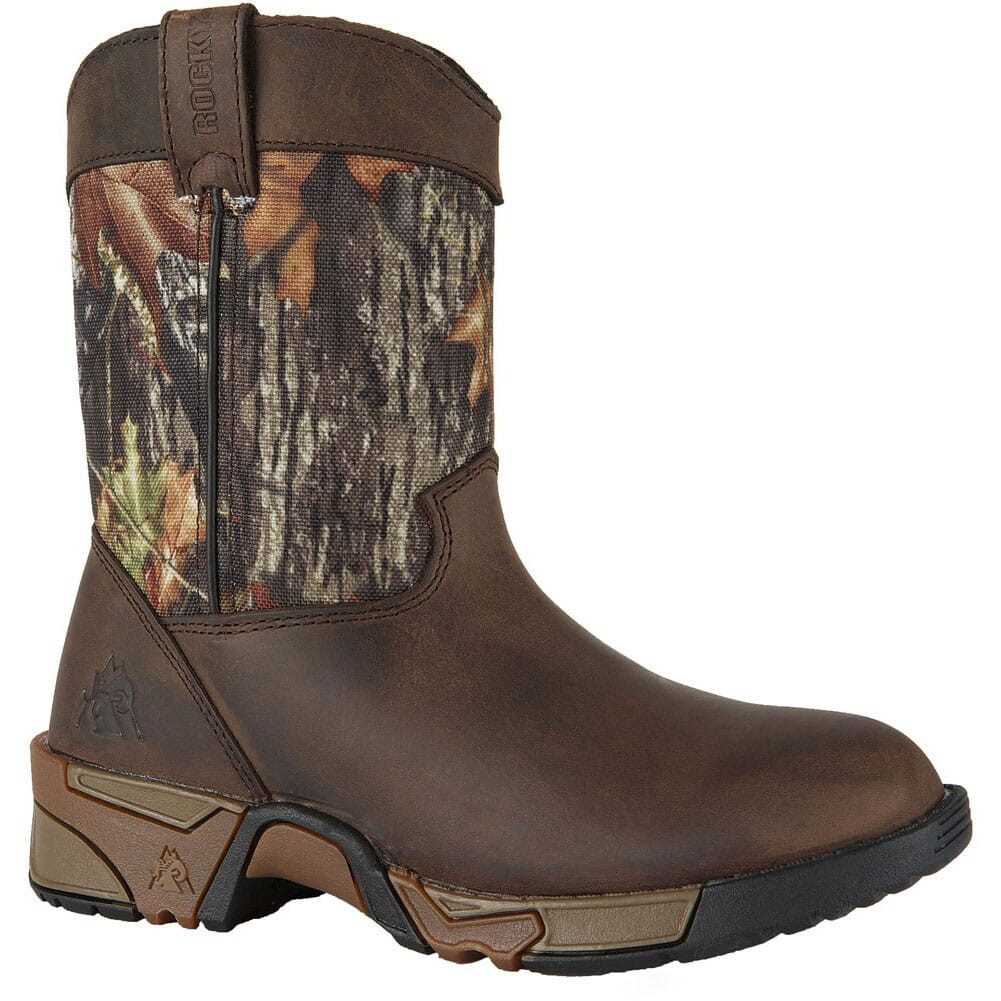 Image for Rocky Kid's Aztec Hunting Boots - Camo/Brown from bootbay