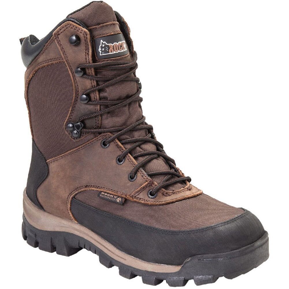 Image for Rocky Men's Core Durability WP 8 Hunting Boots - Brown from bootbay