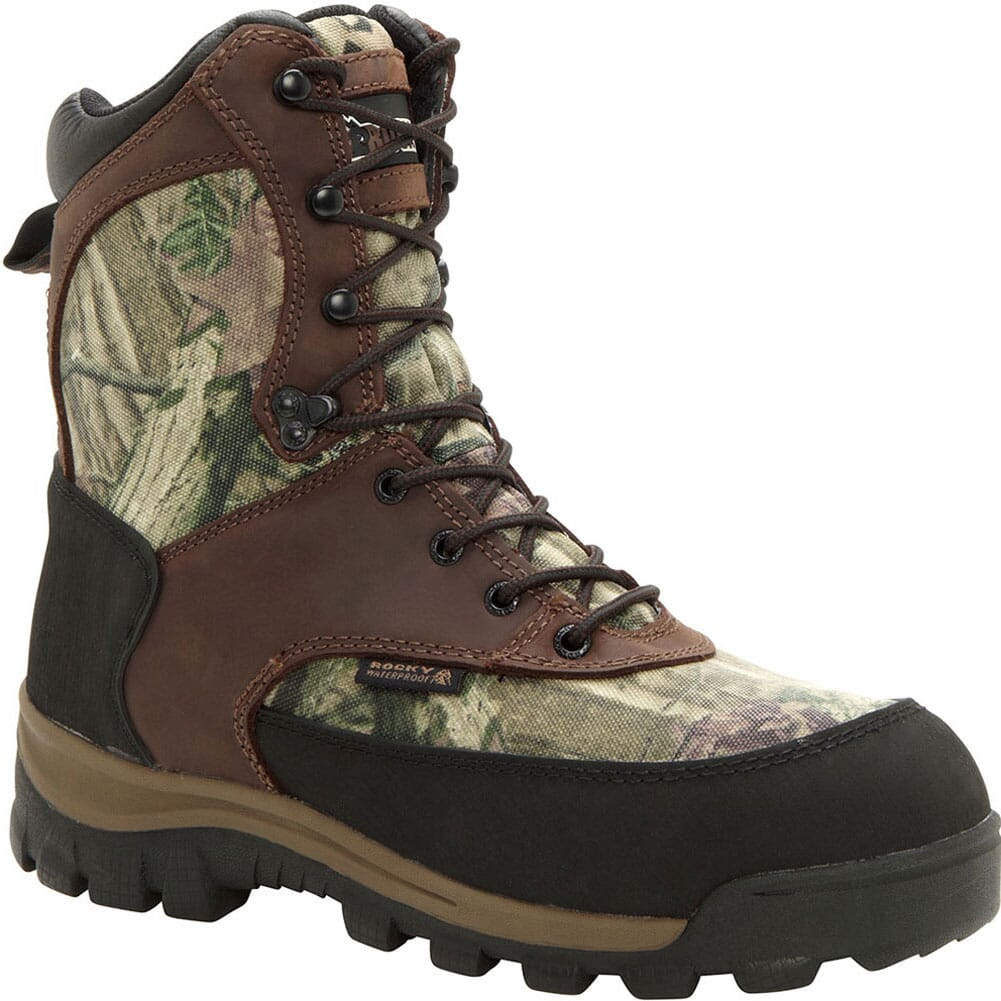 Image for Rocky Men's Core Waterproof 8IN Hunting Boots - Mossy Oak from bootbay