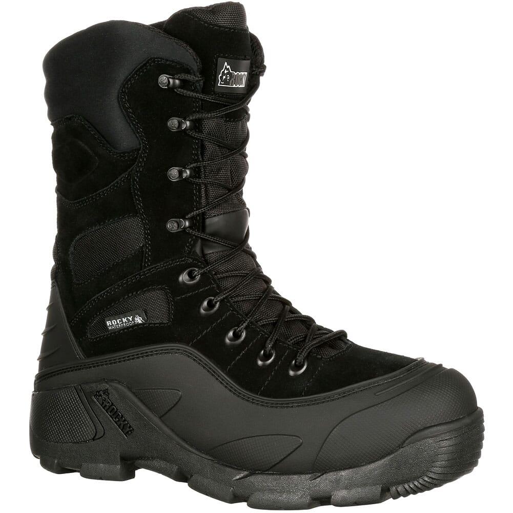 Image for Rocky Men's Blizzard Stalker PRO Hunting Boots - Black from bootbay