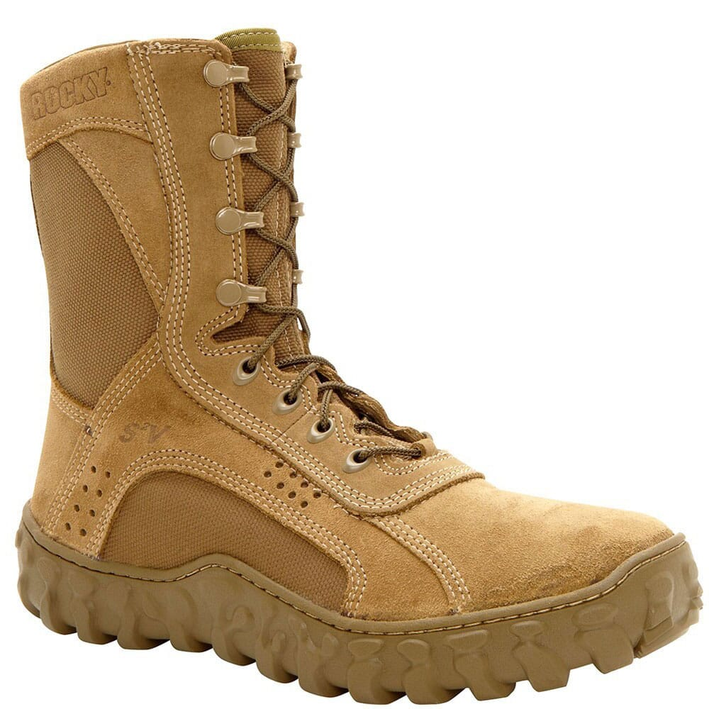 Image for Rocky Men's S2V Military Safety Boots - Coyote Brown from bootbay