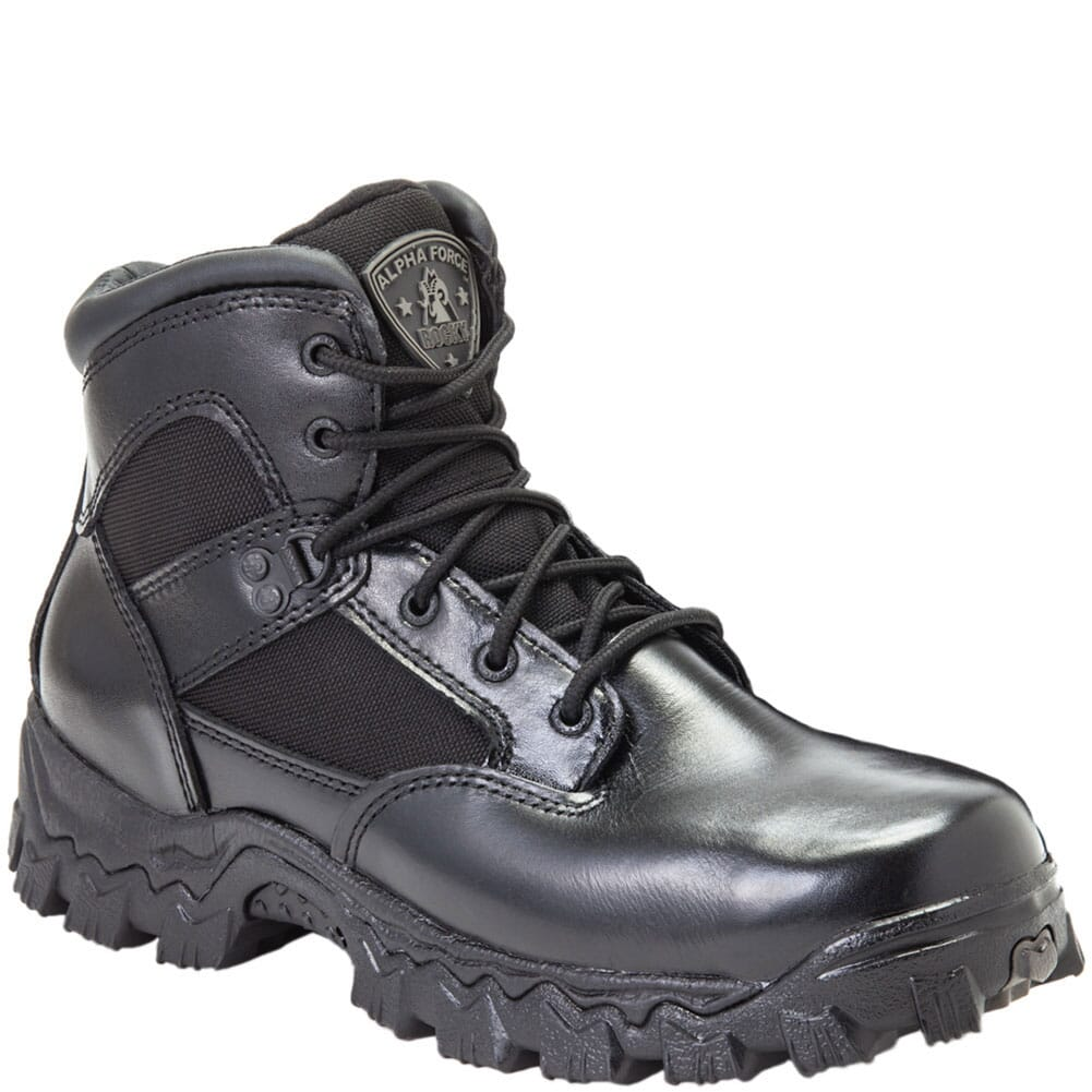 Image for Rocky Men's AlphaForce Safety Boots - Black from bootbay