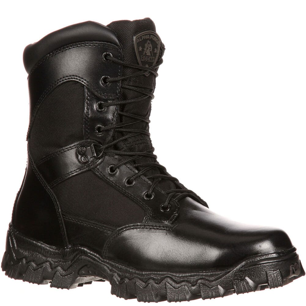 Image for Rocky Men's AlphaForce Xtremium Safety Boots - Black from bootbay