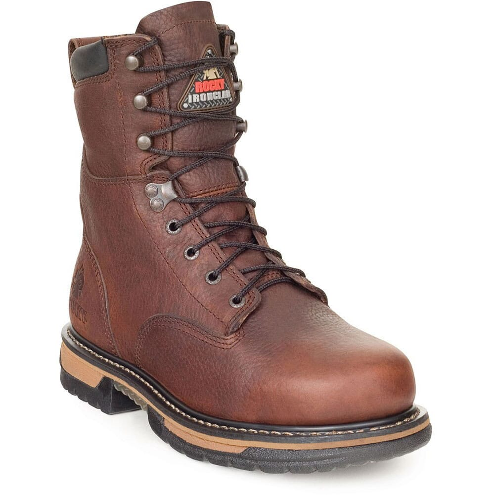 Image for Rocky Men's IronClad SR Waterproof Safety Boots - Brown from bootbay