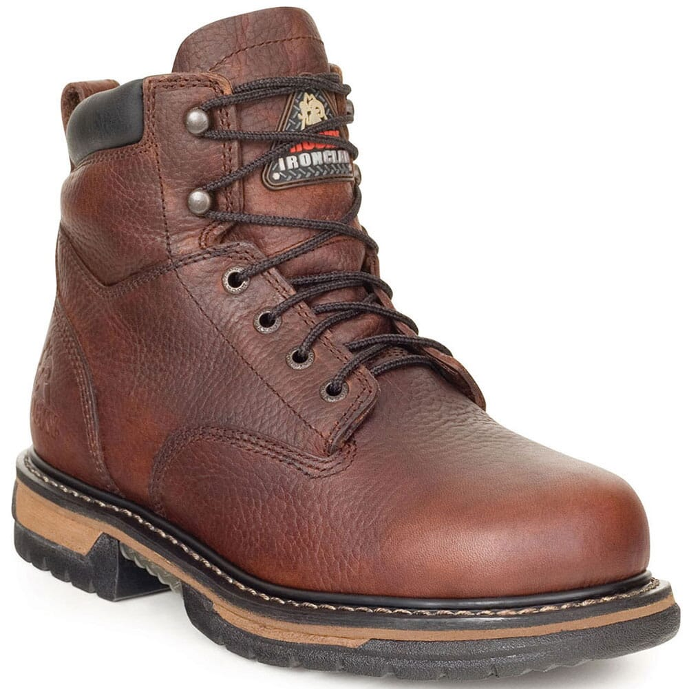 Image for Rocky Men's IronClad ST Safety Boots - Brown from bootbay