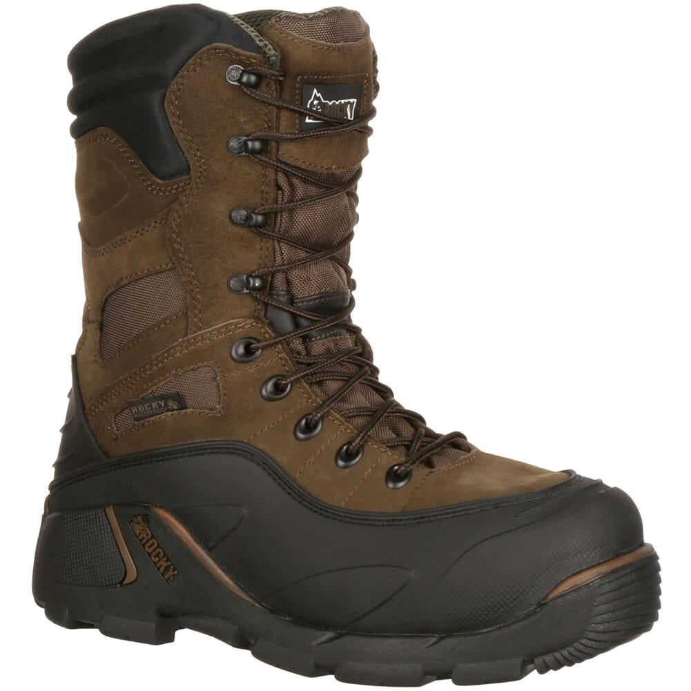 Image for Rocky Men's Blizzardstalker Safety Boots - Brown from bootbay