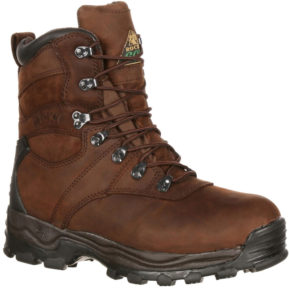 Image for Rocky Men's Sport Utility Pro Hunting Boots - Brown from bootbay