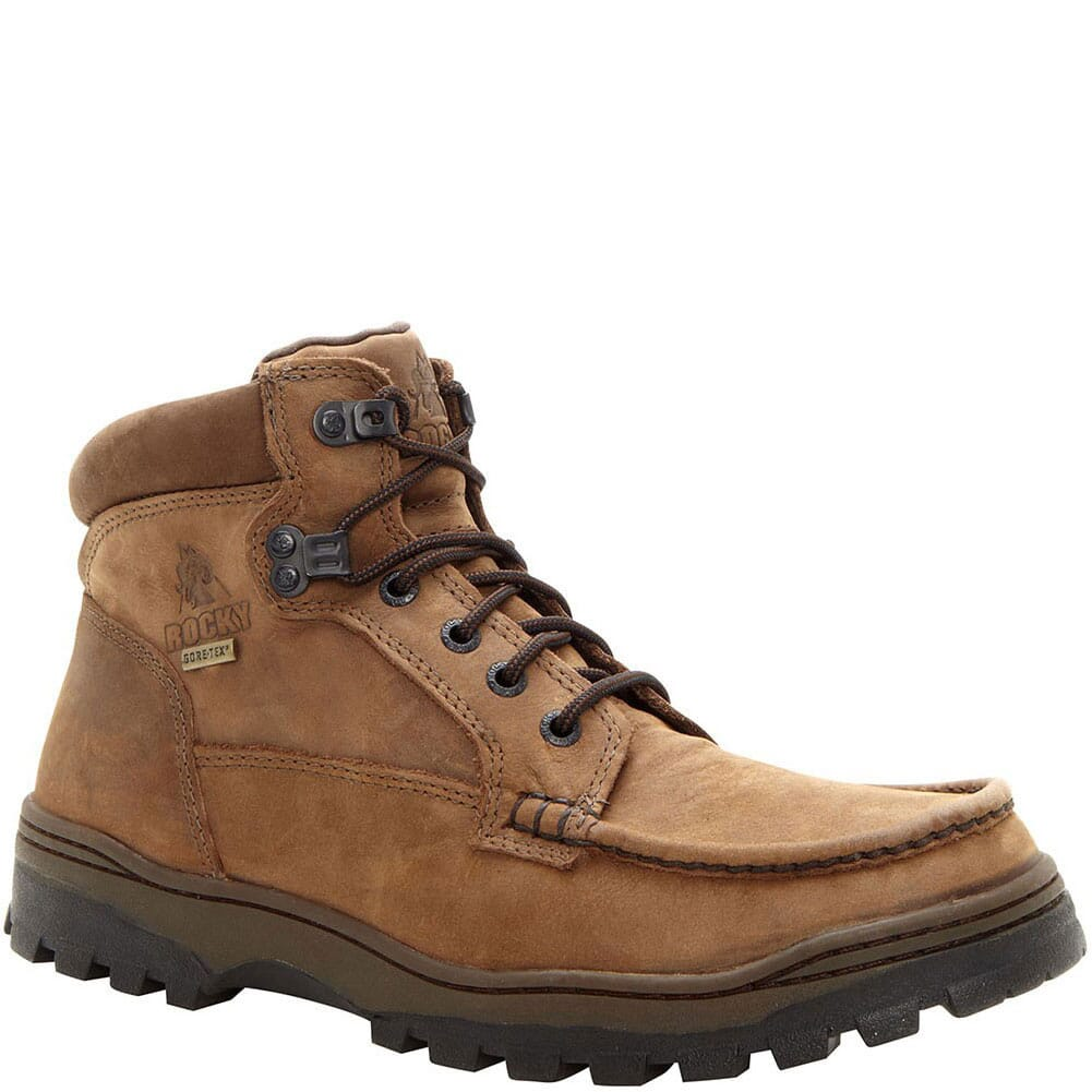 Image for Rocky Men's Outback Chukka Casual Boots - Brown from bootbay