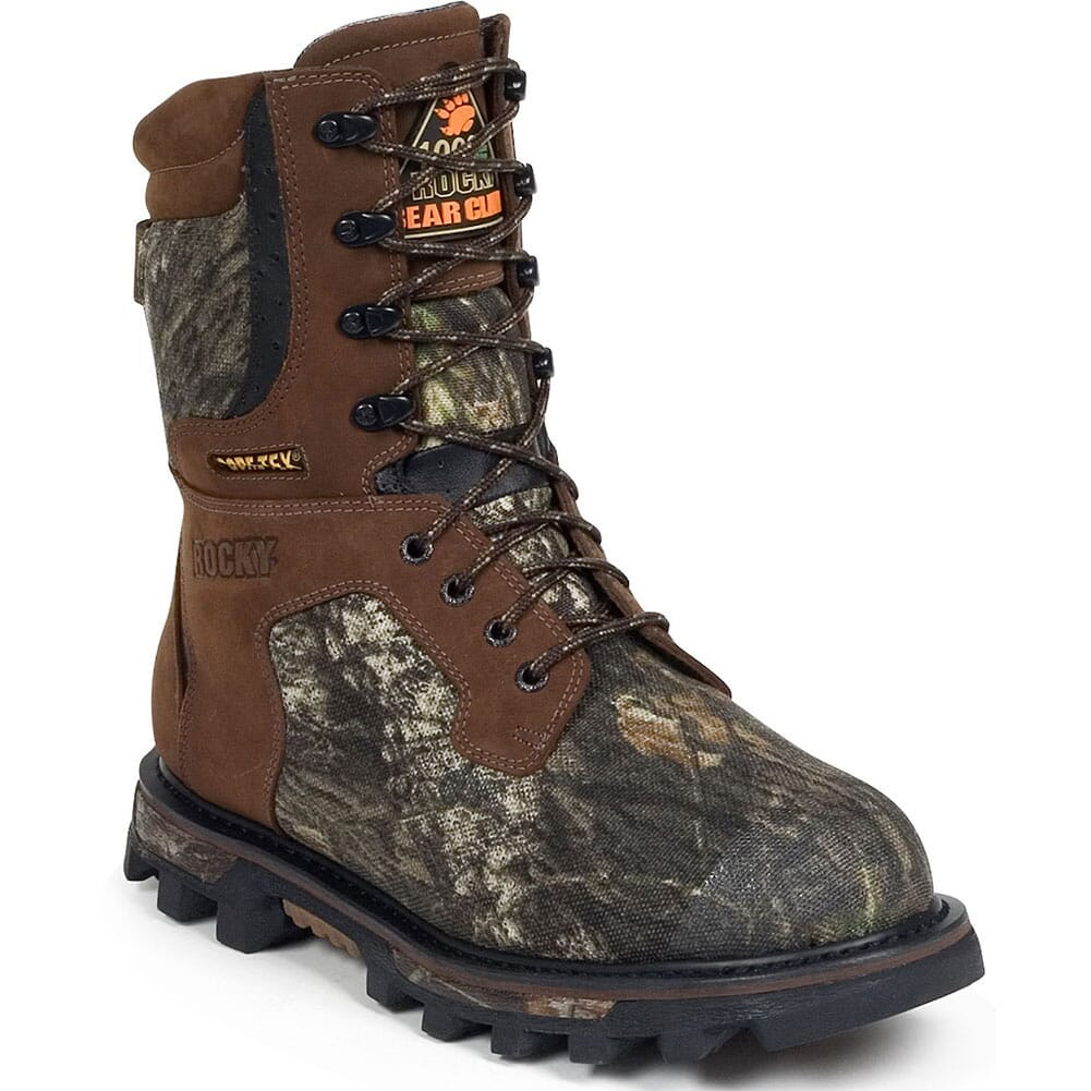 Image for Rocky Men's BearClaw 3D Hunting Boots - Mossy Oak from bootbay