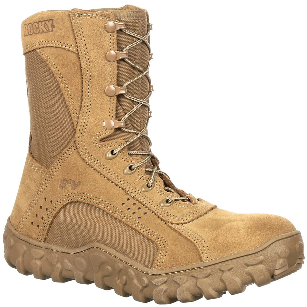 Image for Rocky Men's S2V EH Tactical Comp Toe Safety Boots - Coyote Brown from bootbay