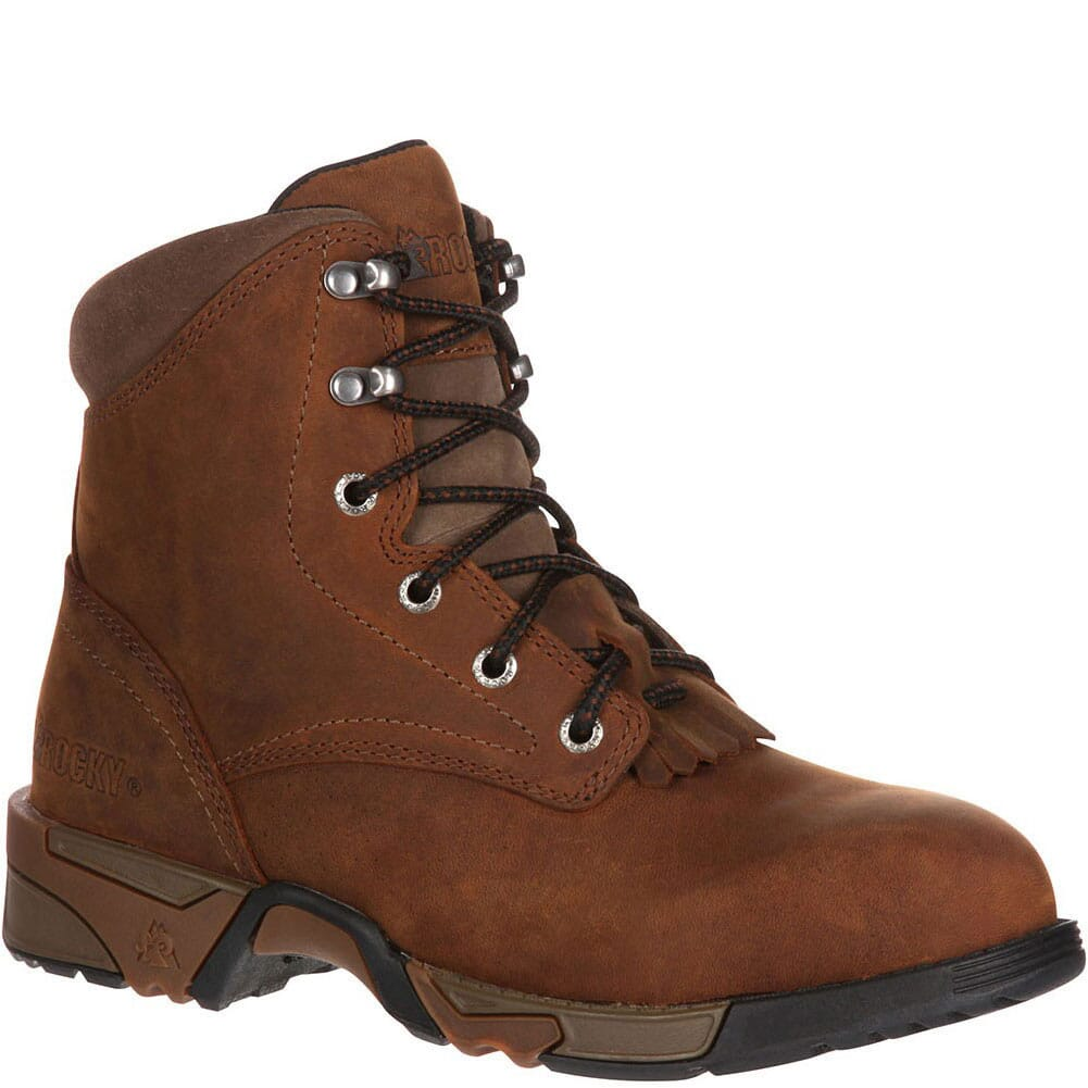 Image for Rocky Women's Aztec Steel Toe Safety Boots - Brown from elliottsboots
