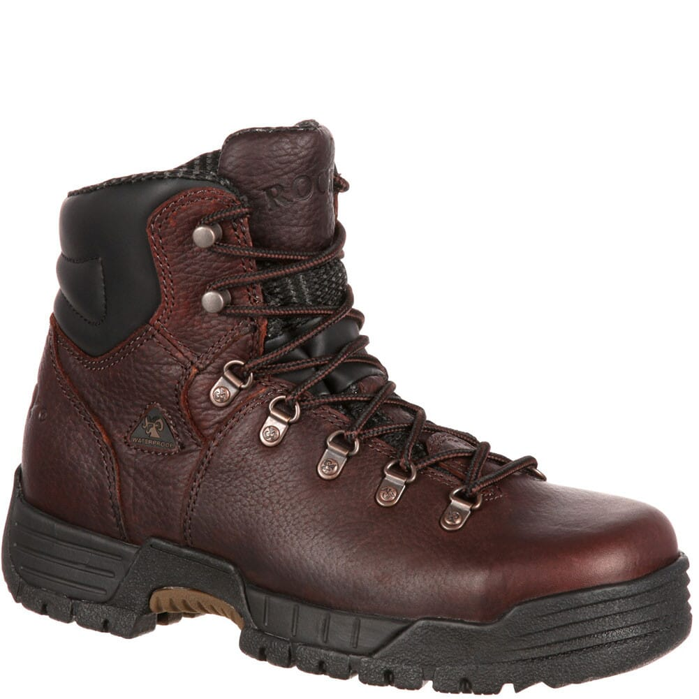 Image for Rocky Women's Mobilite WP Safety Boots - Brown from elliottsboots