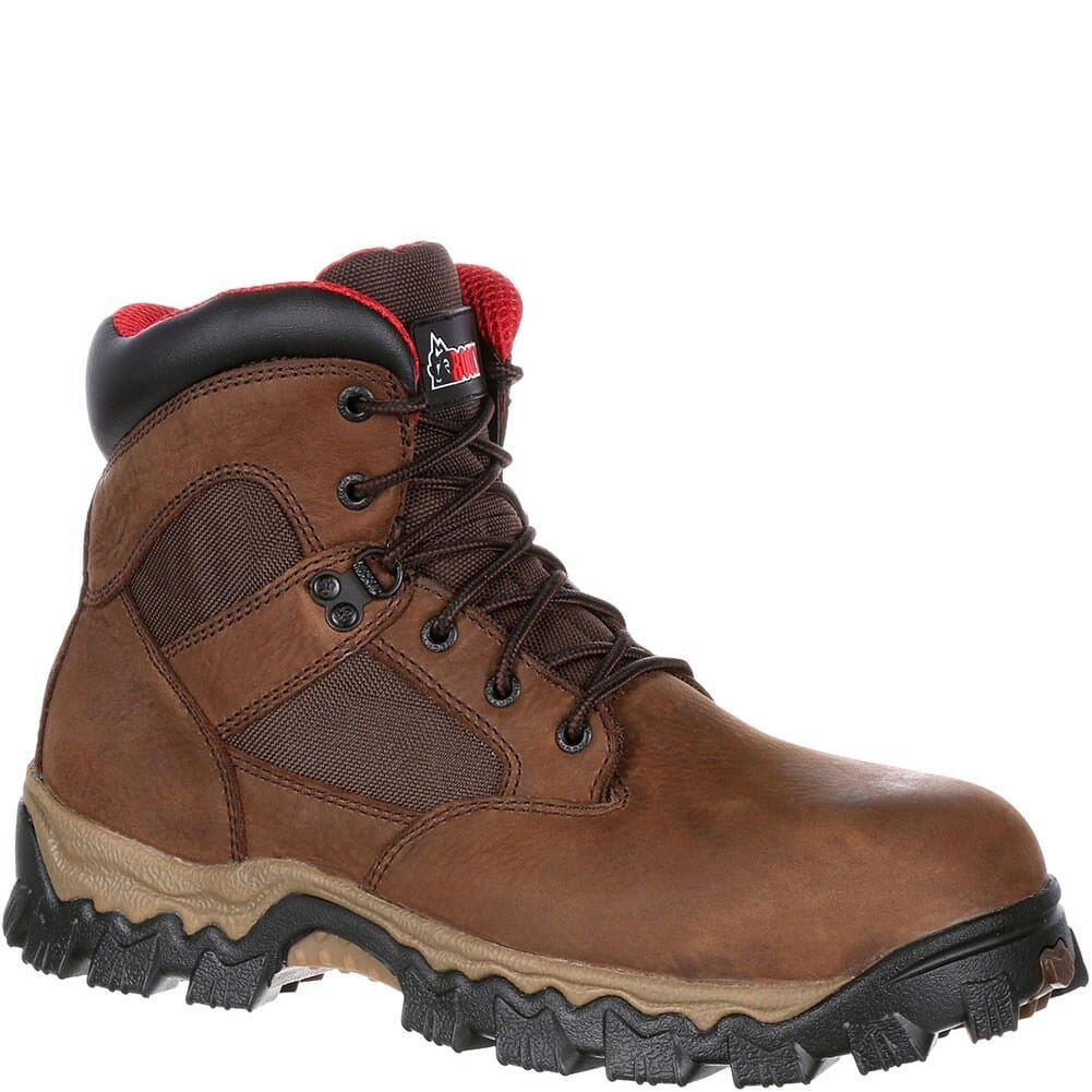 Image for Rocky Men's Alphaforce WP Safety Boots - Brown from bootbay