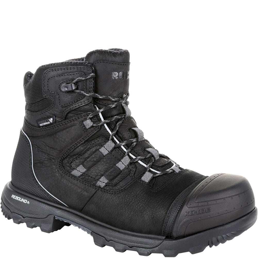 Image for Rocky Men's XO-TOE WP Safety Boots - Black from bootbay