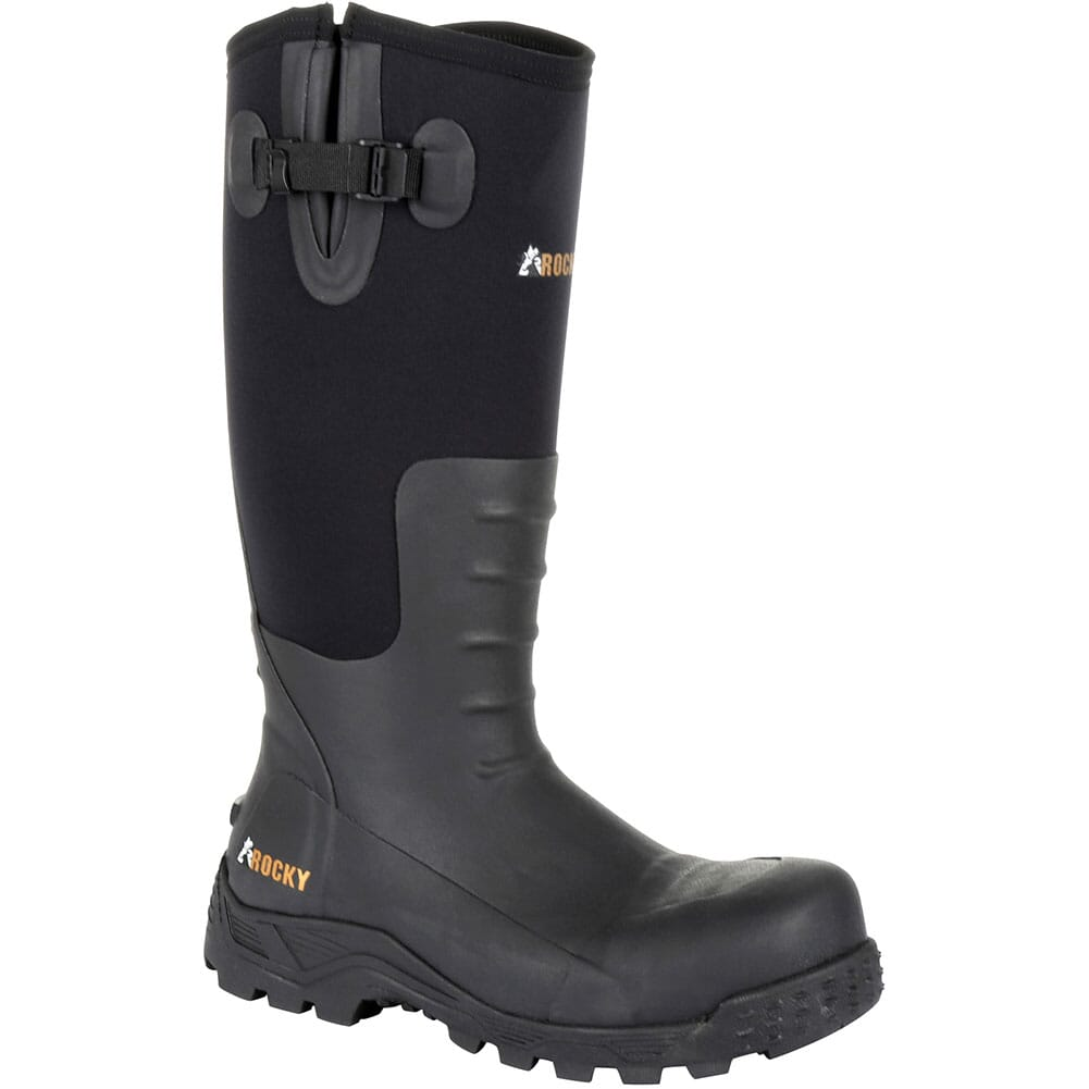 Image for Rocky Men's Sport Pro Rubber Safety Boots - Black from bootbay