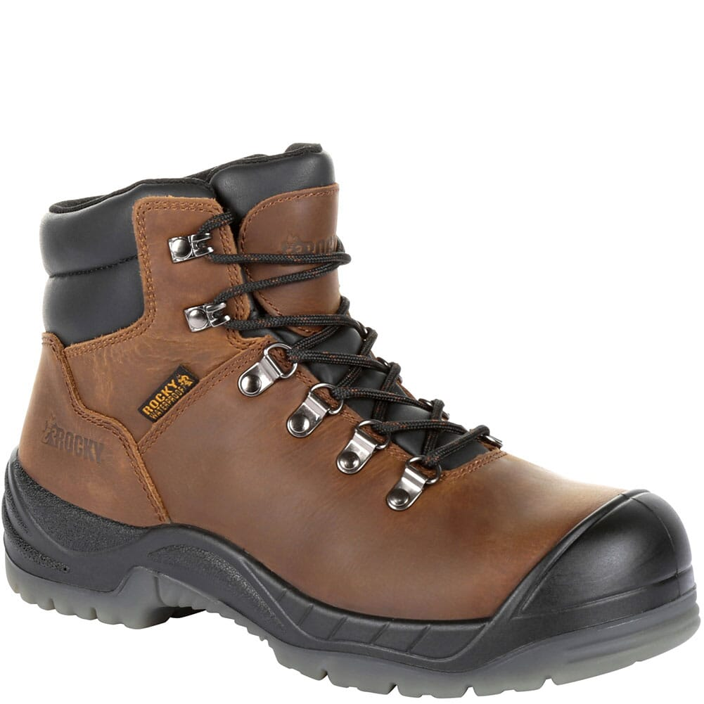 Image for Rocky Women's Worksmart Safety Boots - Brown from elliottsboots