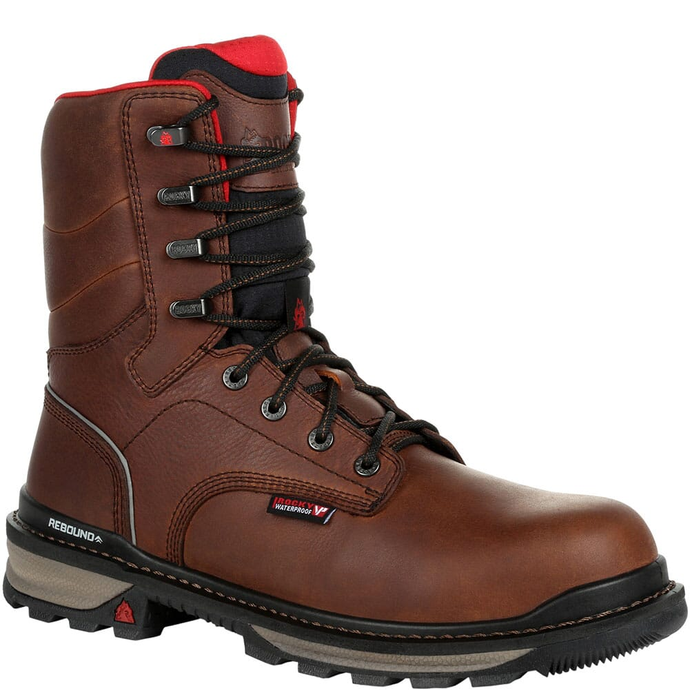 Image for Rocky Men's Rams Horn Composite Toe Safety Boots - Dark Brown from bootbay