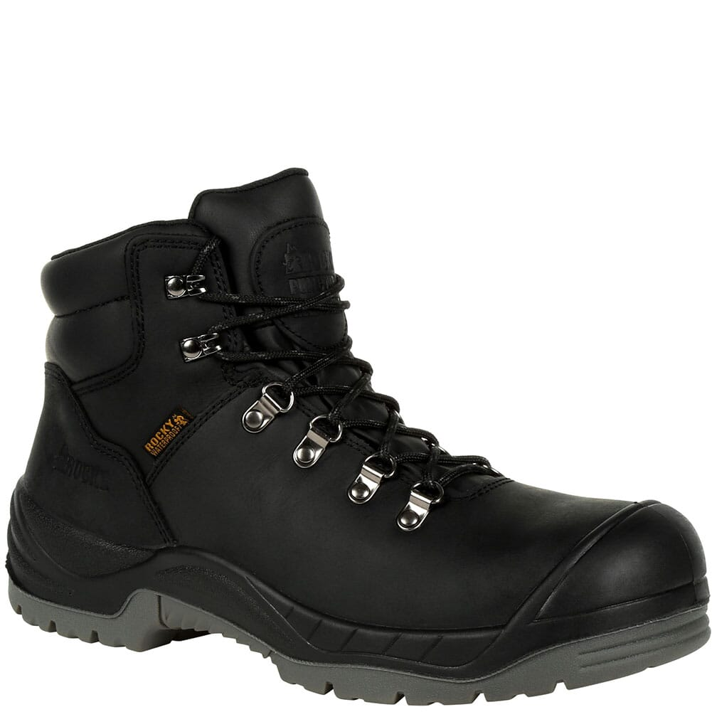 Image for Rocky Men's Worksmart Puncture Resistant Safety Boots - Black from bootbay