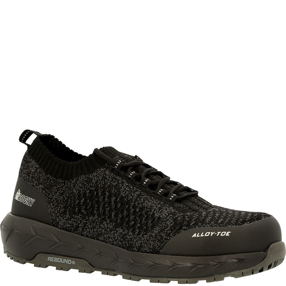 Image for Rocky Women's Workknit LX Alloy Toe Safety Shoes - Black Grey from elliottsboots