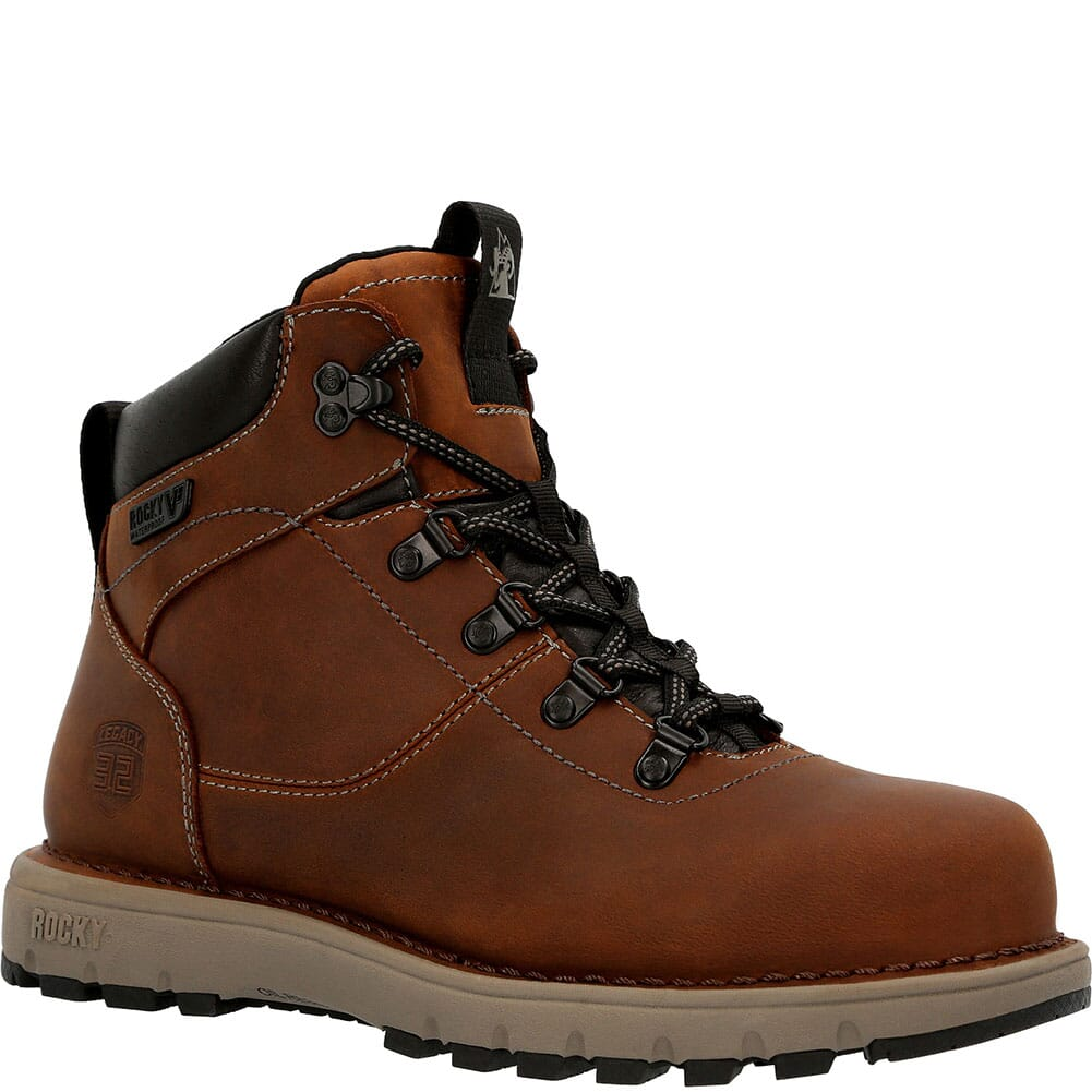 Image for Rocky Women's Legacy 32 WP Work Boots - Brown from elliottsboots