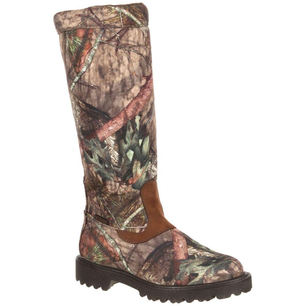 Image for Rocky Men's Low Country WP Snake Boots - Mossy Oak from bootbay
