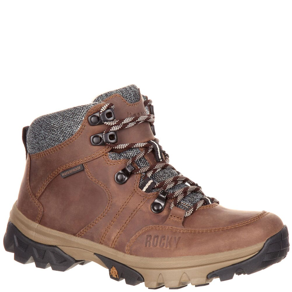 Image for Rocky Women's Endeavor Point WP Hiking Boots - Brown from bootbay