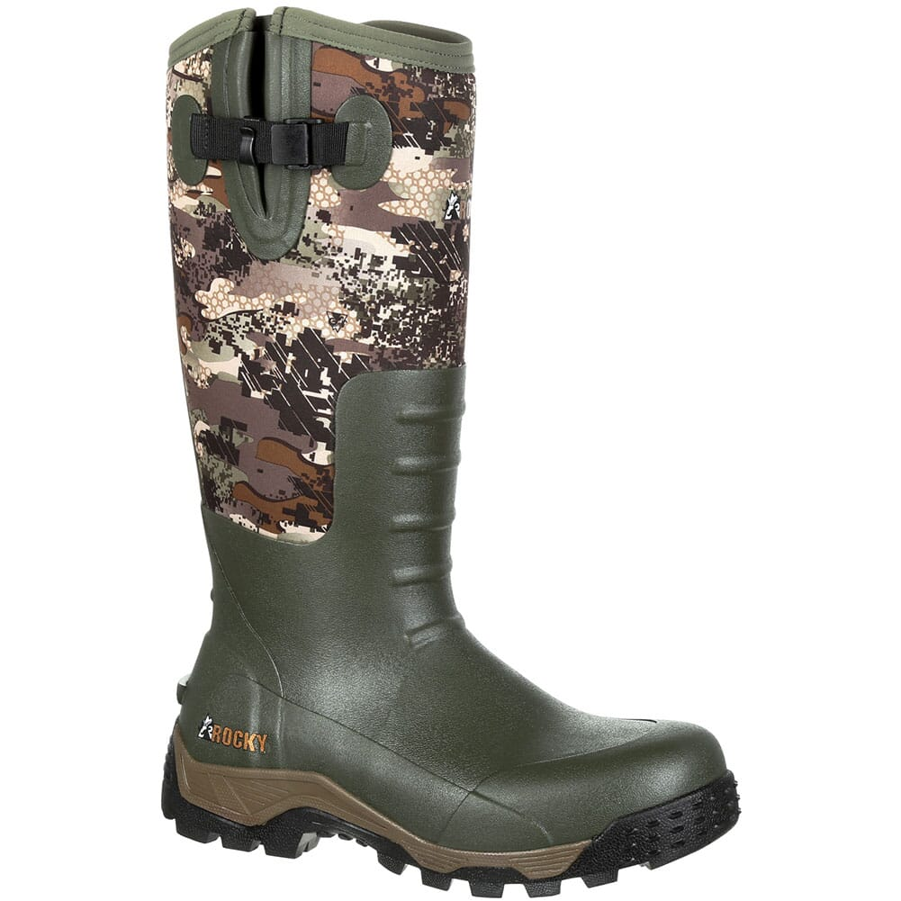 Image for Rocky Sport Pro Men's Hunting Rubber Boots - Venator Camo from bootbay