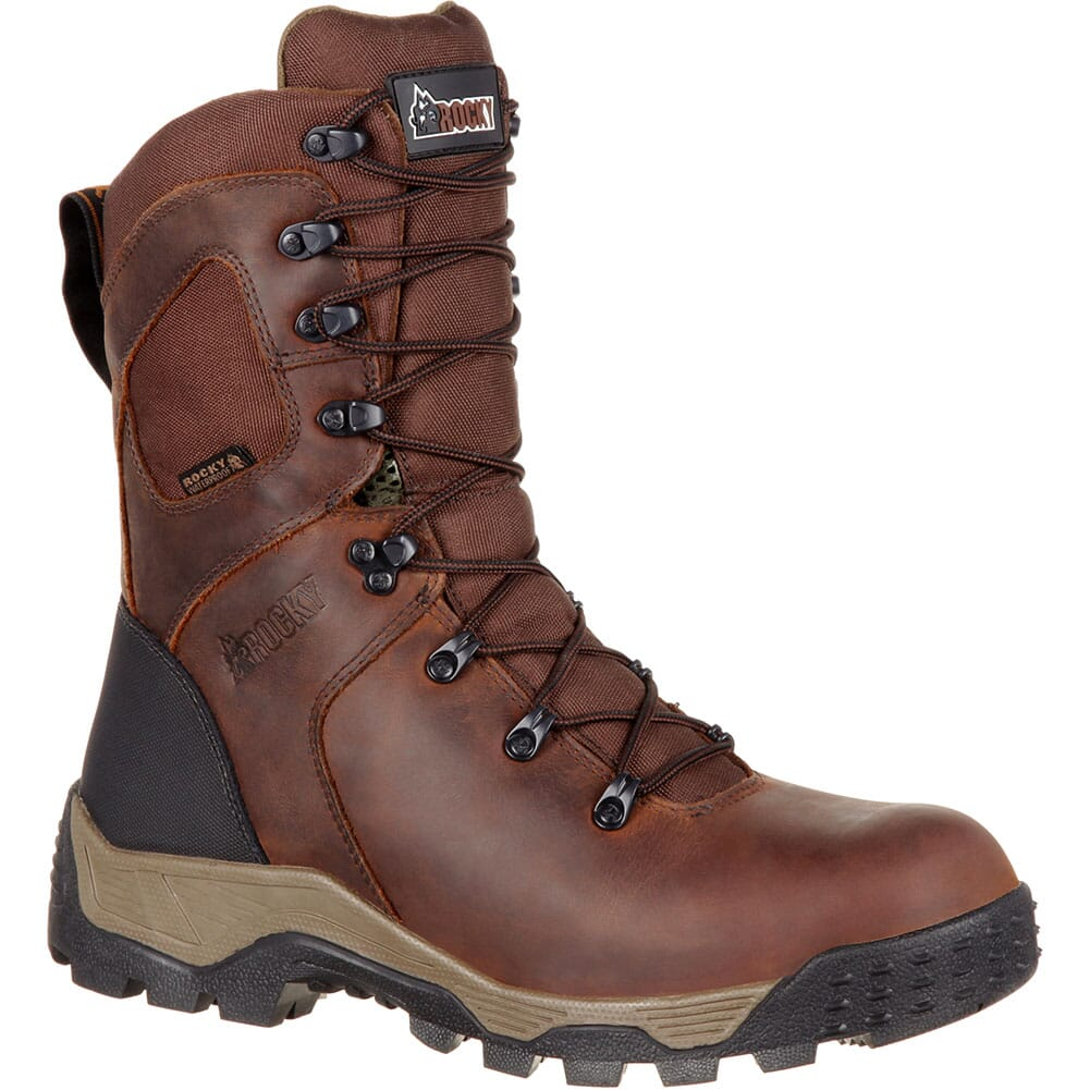 Image for Rocky Men's Sport PRO 200G WP Hunting Boots - Dark Brown from bootbay
