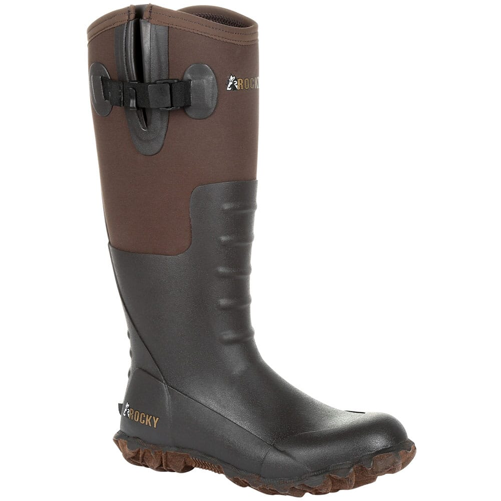 Image for Rocky Women's Core Chore Rubber Boots - Dark Brown from elliottsboots