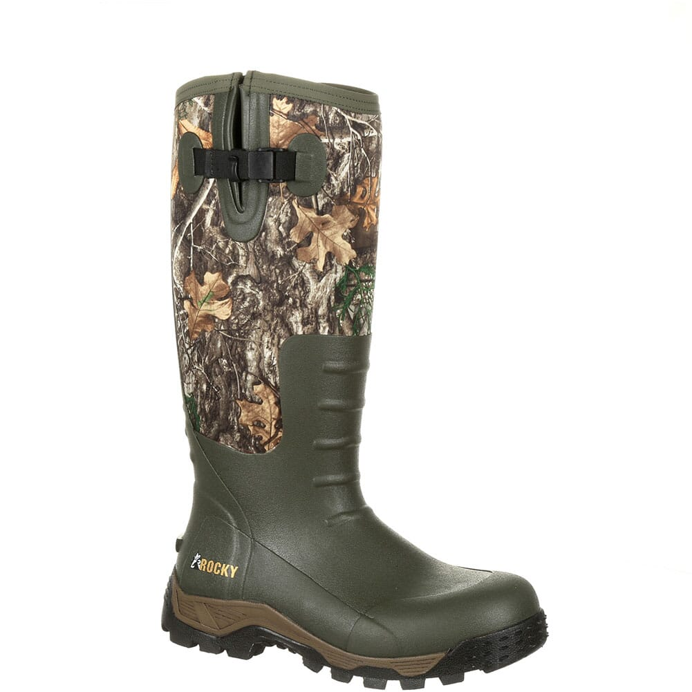 Image for Rocky Men's Sport Pro Rubber Outdoor Boots - Realtree Edge from bootbay