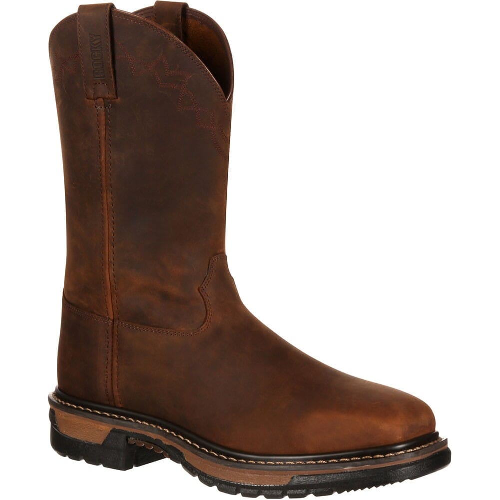 Image for Rocky Men's Original Ride Comfort Safety Boots - Brown from bootbay
