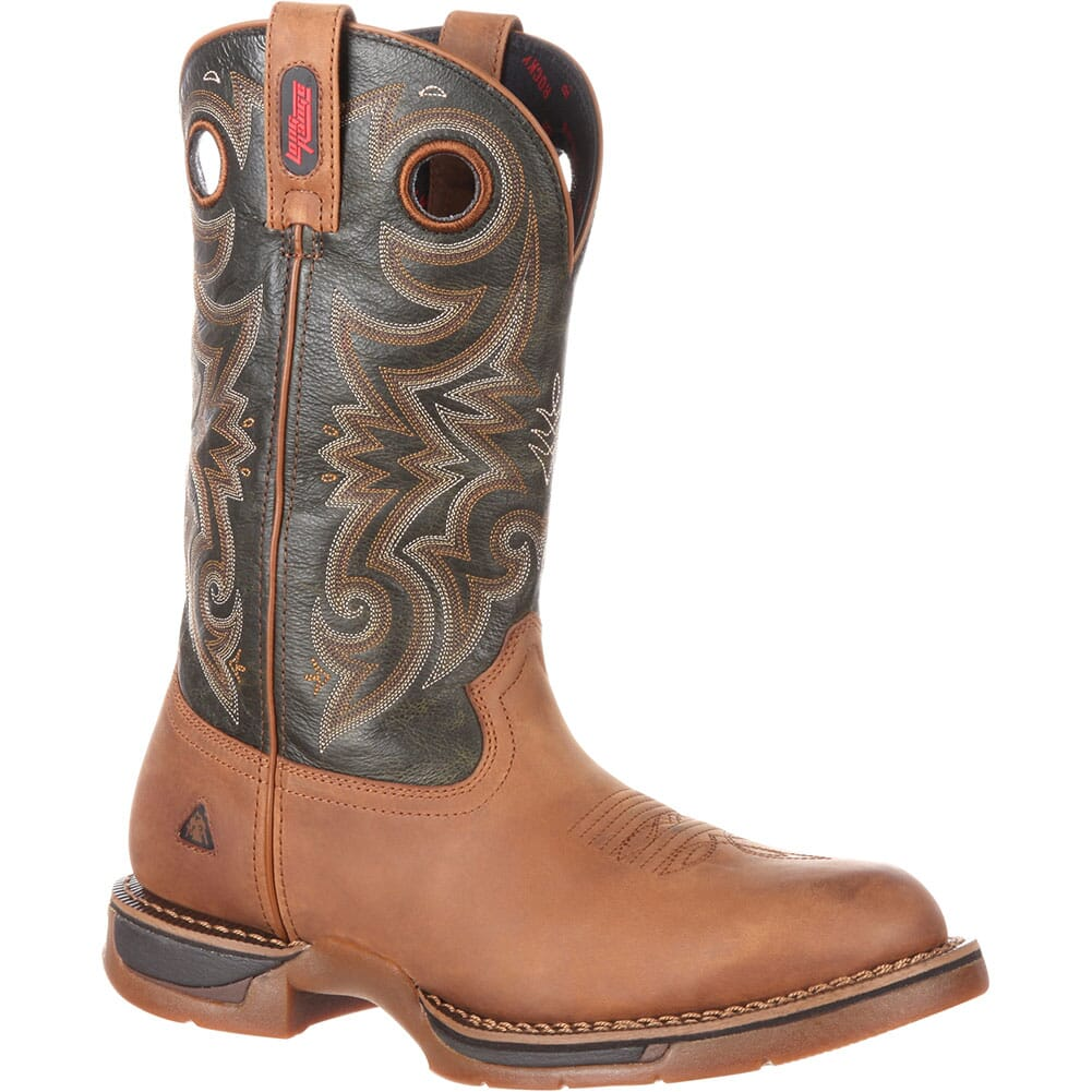 Image for Rocky Men's Long Range WP Western Boots - Brown/Dark Brown from bootbay