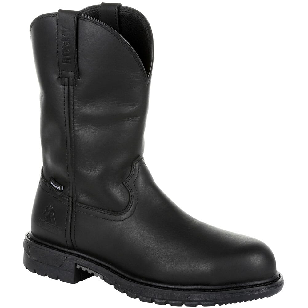 Image for Rocky Men's Original Ride FLX WP Safety Boots - Black from bootbay
