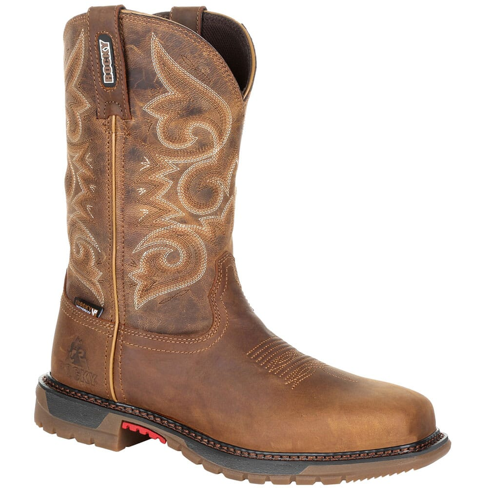Image for Rocky Original Women's Ride FLX WP Safety Boots - Golden Rod from elliottsboots